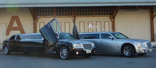 stretch limousine Perth, super stretch limo for school formal, 10 seater