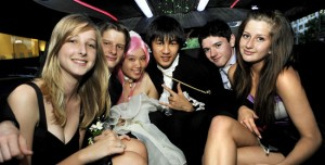 Stretch Limo for School Formal