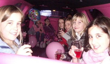 Kids Party Limo Perth