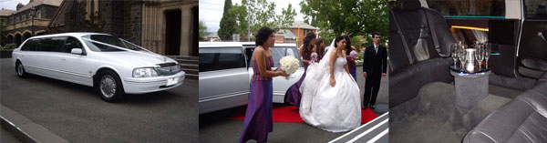 Wedding Limo & Mustang Convertible Hire Cars Melbourne