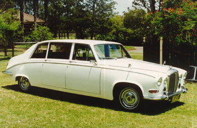 Wedding Cars Newcastle, Port Stephens & Hunter Valley Daimler